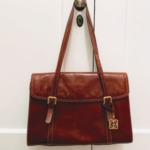 GIANI BERNINI Genuine Leather Tote - EUC
